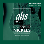 GHS Balanced Nickels Bass Strings