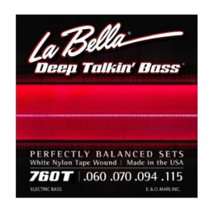 La Bella - 760T White Nylon Tape Wound